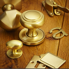 Satin Brass Unlacquered