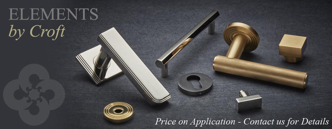 Elements by Croft Luxury Hardware Range