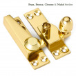Acorn Sash Window Fastener