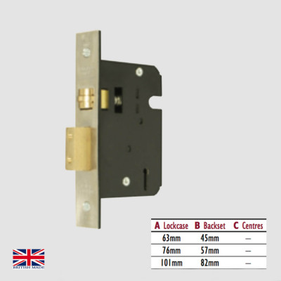 5 Lever Mortice Heavy Duty Lock