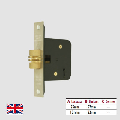 5 Lever Mortice Sliding Door Lock