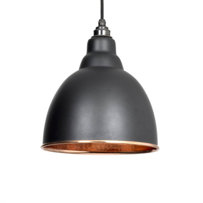 Hammered Copper Pendant Light