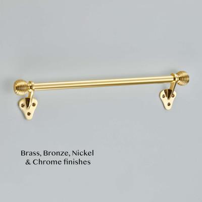 Sash Bar Handle Polished Brass UNL