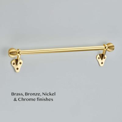 Large Sash Bar Handle Polished Brass UNL