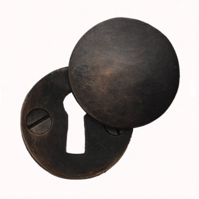 Dark Bronze Covered Escutcheon