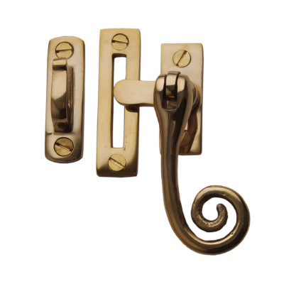 Brass Rat Tail Casement Fastener