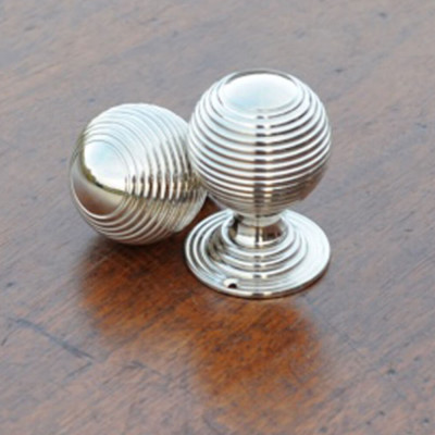 Nickel Victorian Door Knobs