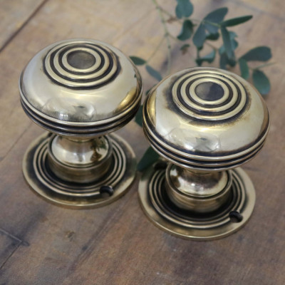 Brass Large Bloxwich Door Knobs