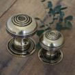 Brass Bloxwich Door Knobs Large and Small