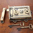 Davenport Solid Brass Rim Lock