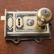 Solid Brass Rim Lock