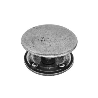 Luna Pewter Round Cabinet Knob