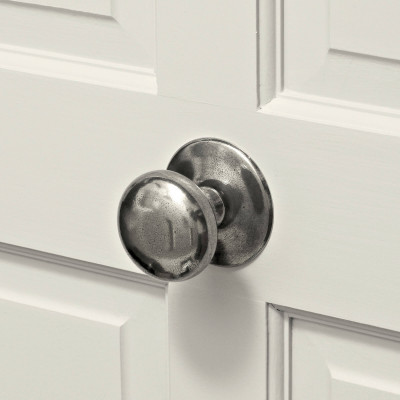 Real Pewter Centre Door Knob