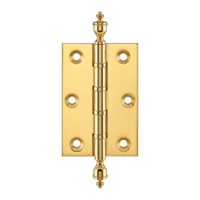 Simonswerk Finial Ball Race Brass Butt Hinge