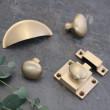Satin Brass Wrenbury Cabinet Collection