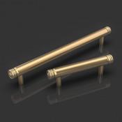 Cassius Satin Brass Cabinet Handle