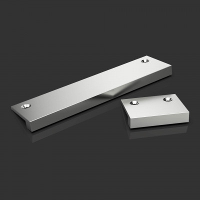 Fenix Narrow Edge Pull Satin Chrome