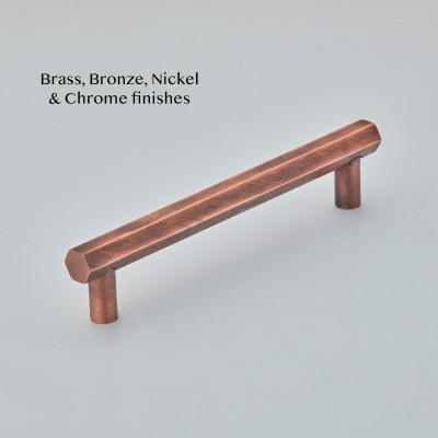 Hex Cabinet Pull Handle Autumn Bronze