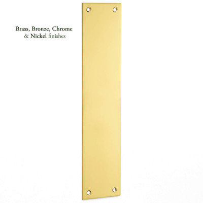 Plain Finger Plate