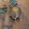 Old English Brass Victorian Beehive
