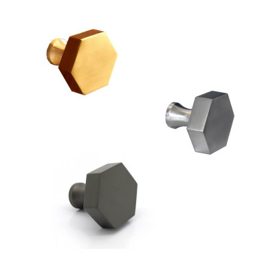Thomas Hexagonal Cabinet Knobs