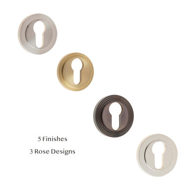 Hampton Euro Profile Escutcheon Collection