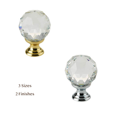 Swarovski Elements Crystal Cupboard Knob