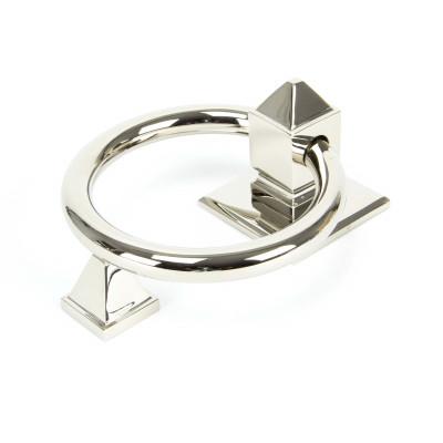 Polished Nickel Ring Door Knocker
