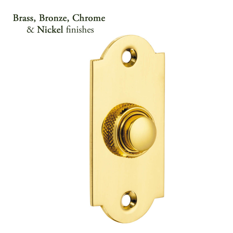 Arched Bell Push Period Door Bell