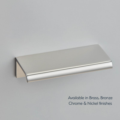 Arc Edge Pull Polished Nickel