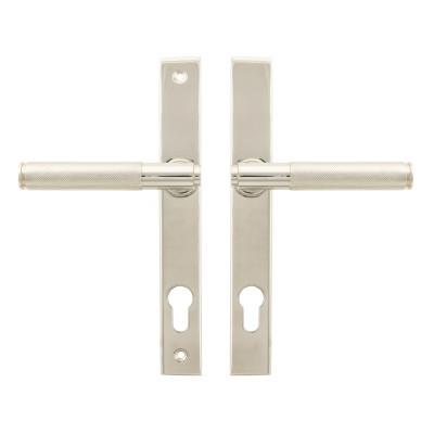 Brompton Lever Slimline Espagnolette lock Set Polished Nickel