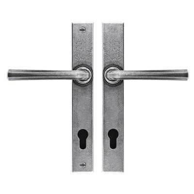 Tunstall Espagnolette Lock Set Pewter