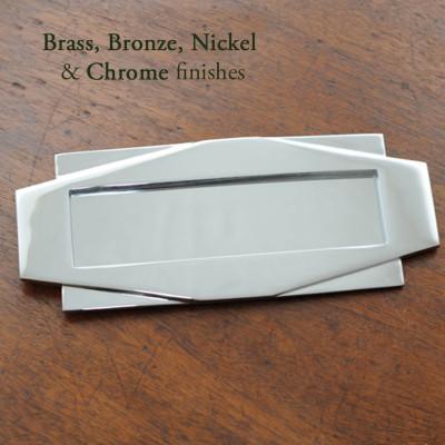 Art Deco Letter Plate
