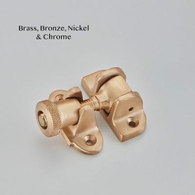 Brighton Sash Fastener Satin Brass