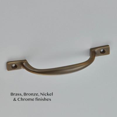 Sash Handle Aged Brass