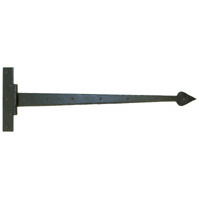 Hand forged barn door hinge