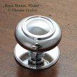 Verve Centre Pull in Chrome Plate