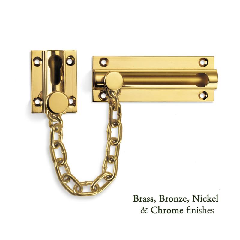 Heavy Duty Door Chain   Period Front Door Accessories