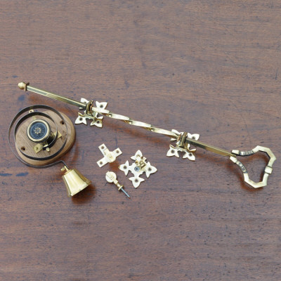 Brass Bell Pull & Internal Butlers Bell
