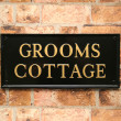 Traditional Rectangle House Signs