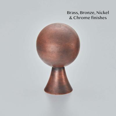 Patterdale Cpboard Knob Autumn Bronze