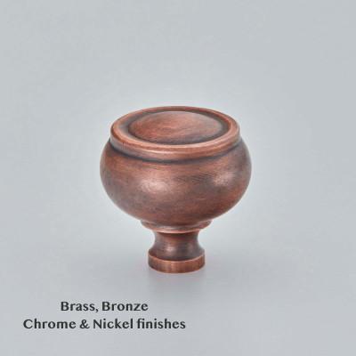 Verve Cupboard Knob Autumn Bronze