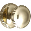 Large Brass Constable Round Door Knob