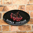 Small Oval House Signs