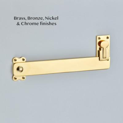 Shutter Bar Polished Brass