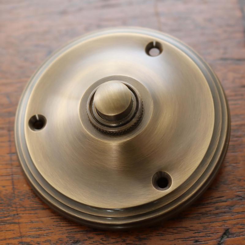 Constable Round Bell Push Period Door Bell