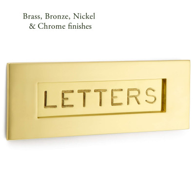 Engraved Letter Plate