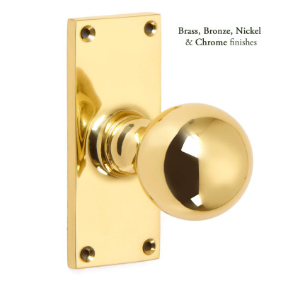 Traditional ball Knob handle