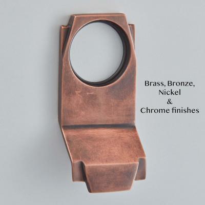 Art Deco Cylinder Pull Autumn Bronze