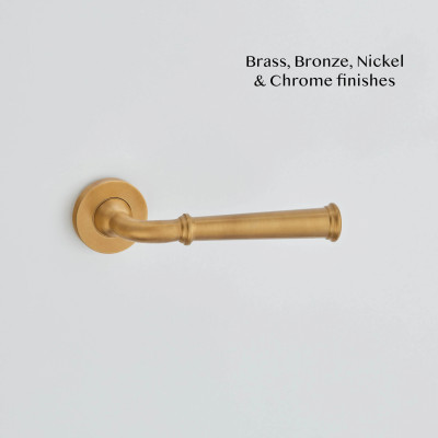 Grace Lever Handle Smoked Brass